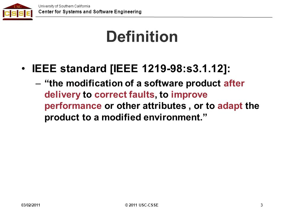 Cs 577b software engineering ii introduction ppt for Ieee definition